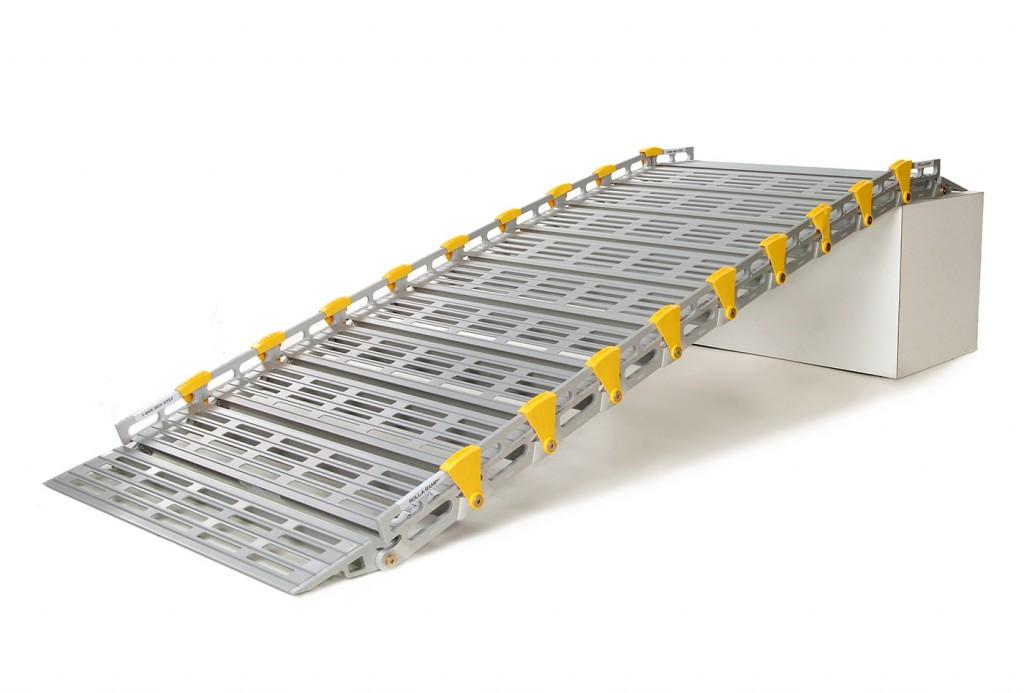 Inicio sistema modular de rampas for Rampa de discapacitados